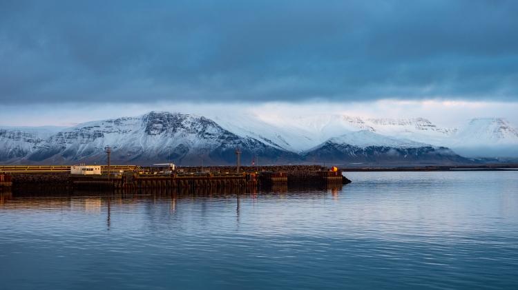 Mountains Reykjavik Winter