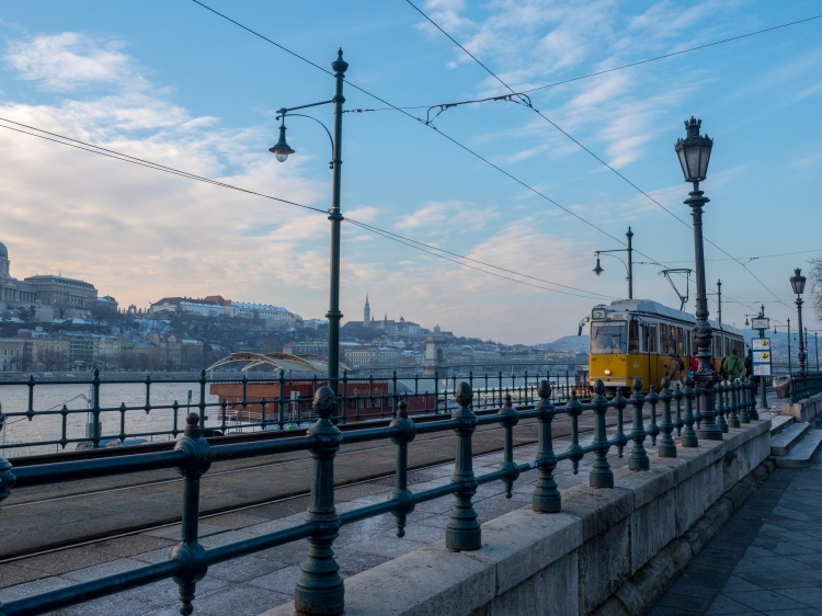Number 2 Tram Budapest