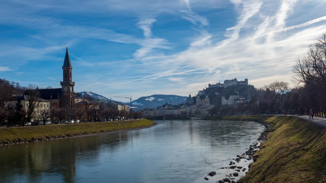 Salzburg Austria Winter
