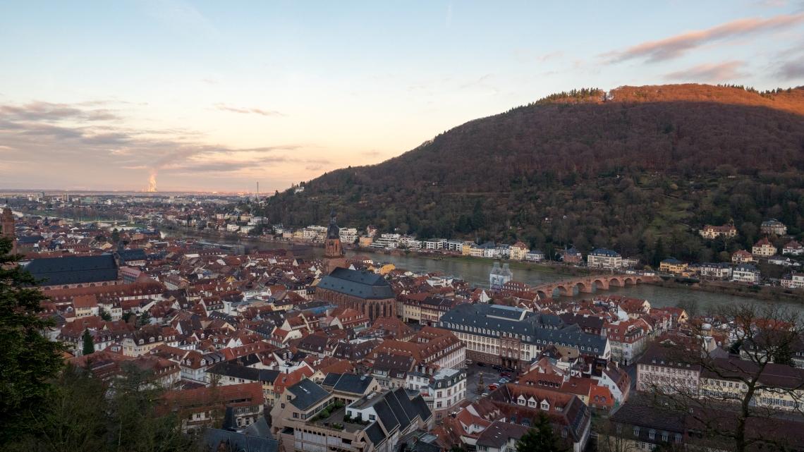 City of Heidelberg Germany