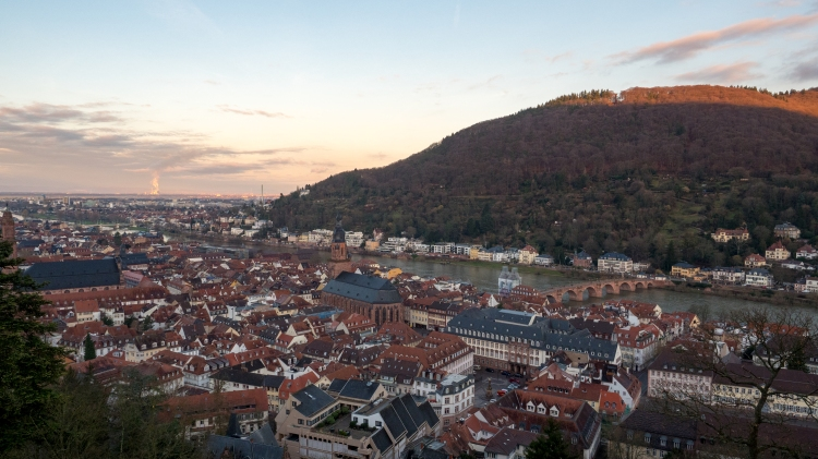 City of Heidelberg Germany