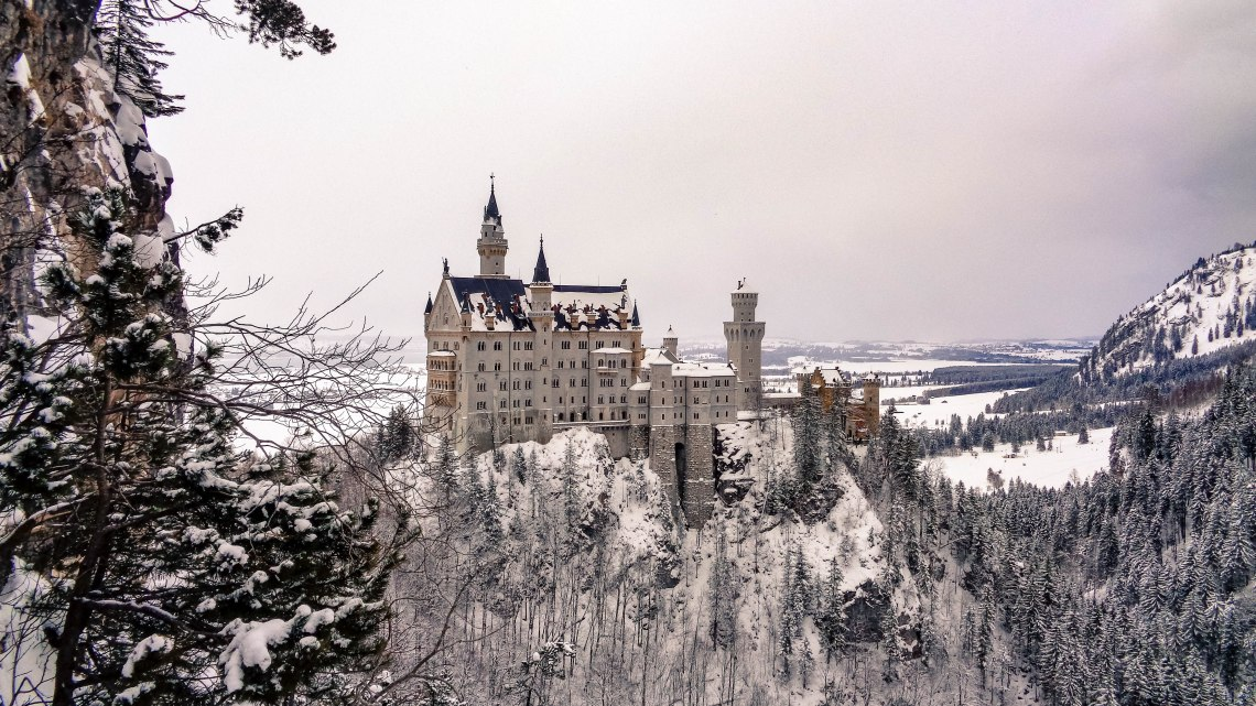 Schloss Neuschwanstein Winter