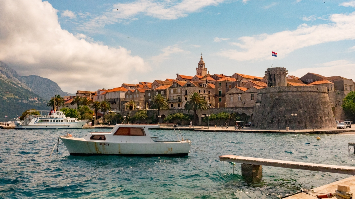 Korcula Old Town Spring