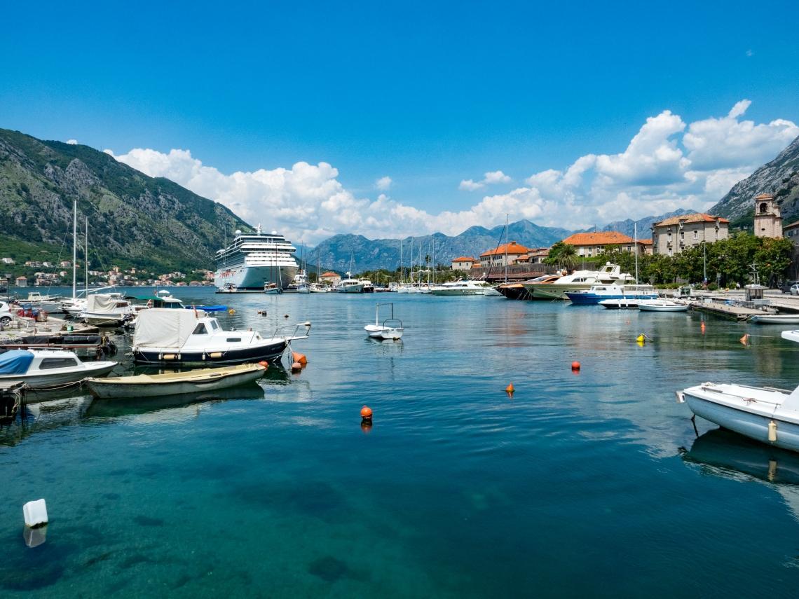 Bay of Kotor boats